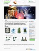 Интернет-магазин новогодних товаров